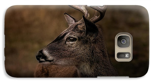 Galaxy Case featuring the photograph Early Buck by Robert Frederick