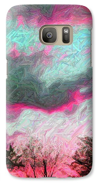 Galaxy Case featuring the photograph Early Evening by Susan Carella