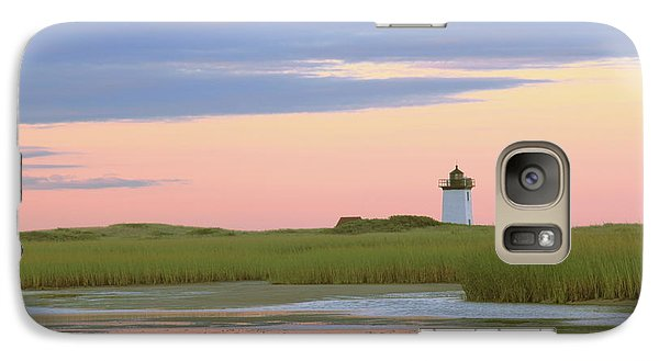 Galaxy Case featuring the photograph Early Light At Wood End Light by Roupen  Baker