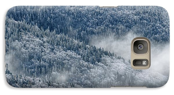 Galaxy Case featuring the photograph Early Morning After A Snowfall by Sebastien Coursol