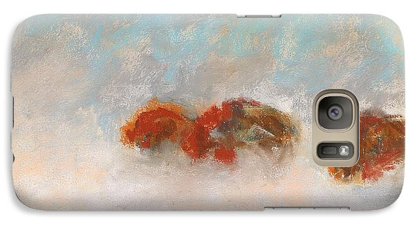 Early Morning Herd Galaxy Case by Frances Marino