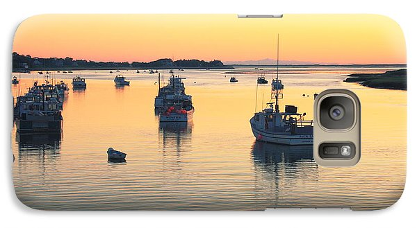 Galaxy Case featuring the photograph Early Morning In Chatham Harbor by Roupen  Baker