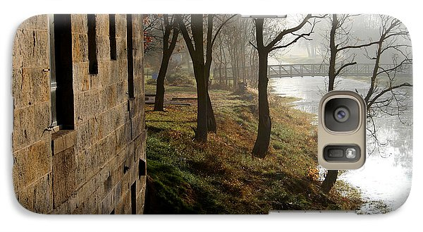 Galaxy Case featuring the photograph Early Morning Mist  by Paula Guttilla