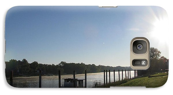 Galaxy Case featuring the photograph Early Morning On The Savannah River by Donna Brown