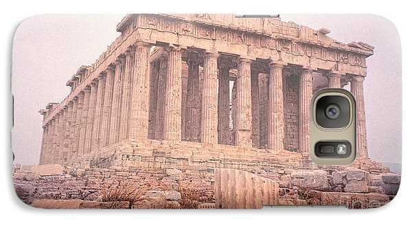 Galaxy Case featuring the photograph Early Morning Parthenon by Nigel Fletcher-Jones