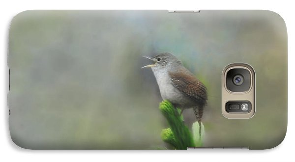 Galaxy Case featuring the photograph Early Morning Songbird by Brenda Bostic