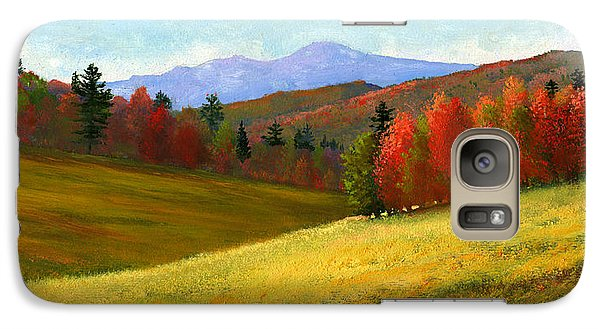Galaxy Case featuring the painting Early October by Frank Wilson