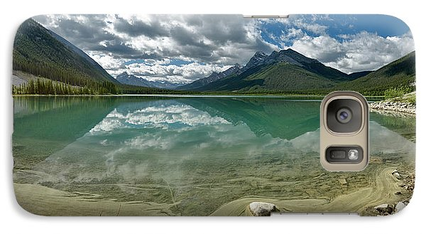 Galaxy Case featuring the photograph Early Summer Day On Goat Pond by Sebastien Coursol