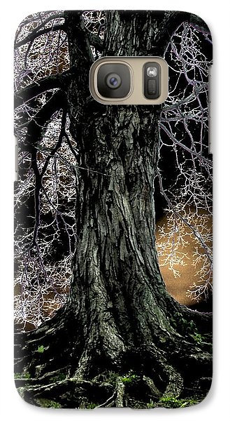 Galaxy Case featuring the digital art Earth Bound by Misha Bean