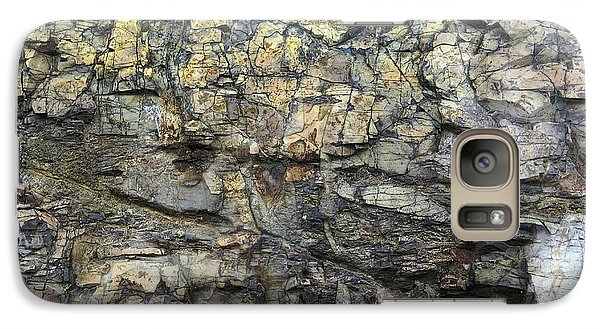 Galaxy Case featuring the photograph Earth Memories - Stone # 6 by Ed Hall