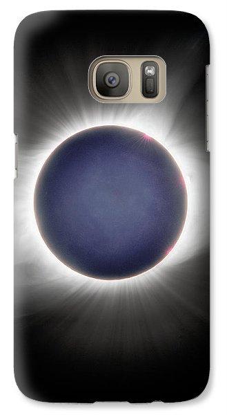Earth-shine Galaxy S7 Case