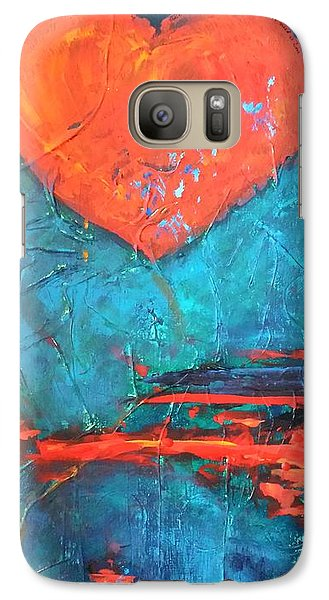 Galaxy Case featuring the painting East Winds by Diana Bursztein