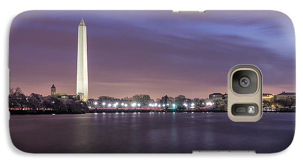 Galaxy Case featuring the photograph Easter Blues by Edward Kreis