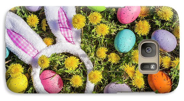 Galaxy Case featuring the photograph Easter Bunny Ears by Teri Virbickis