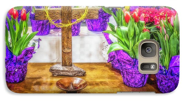 Galaxy Case featuring the photograph Easter Flowers by Nick Zelinsky
