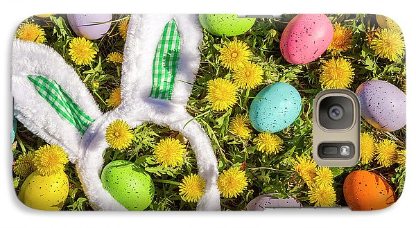 Galaxy Case featuring the photograph Easter Morning by Teri Virbickis