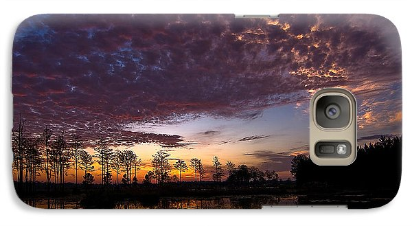 Galaxy Case featuring the photograph Easter Sonrise by Dan Wells