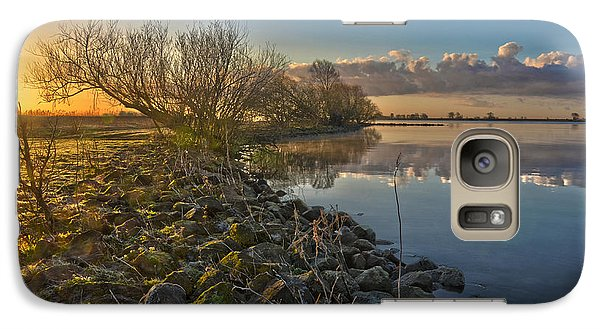 Galaxy Case featuring the photograph Easter Sunrise by Frans Blok