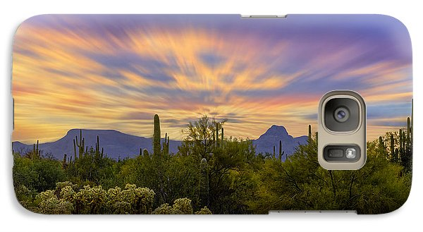 Easter Sunset H18 Galaxy S7 Case