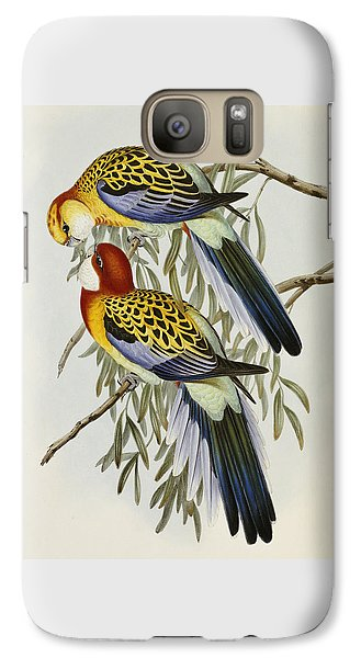 Eastern Rosella Galaxy S7 Case by John Gould