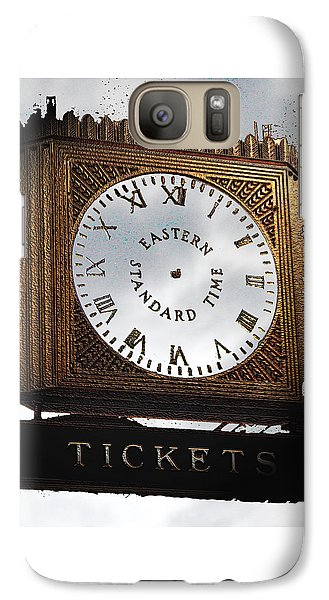 Galaxy Case featuring the photograph Eastern Standard Time by Christopher Woods