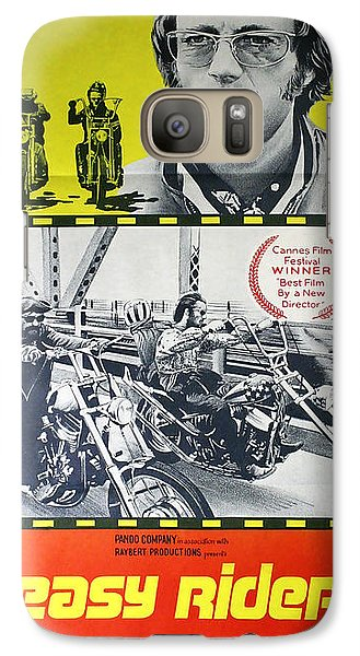 Easy Rider Movie Lobby Poster  1969 Galaxy Case by Daniel Hagerman