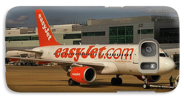 Galaxy Case featuring the photograph Easyjet Airbus A319-111  by Tim Beach