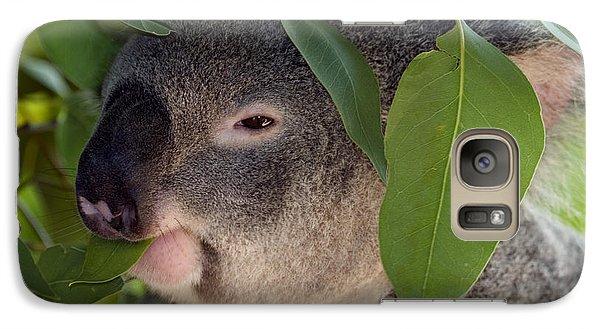 Koala Galaxy S7 Case - Eat Your Greens by Mike  Dawson