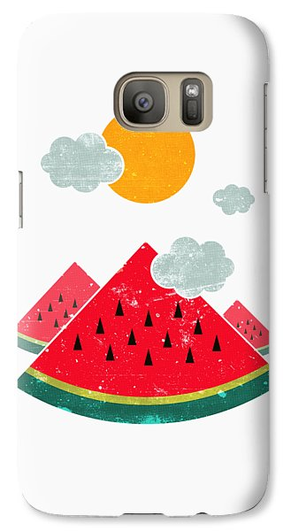 Eatventure Time Galaxy S7 Case