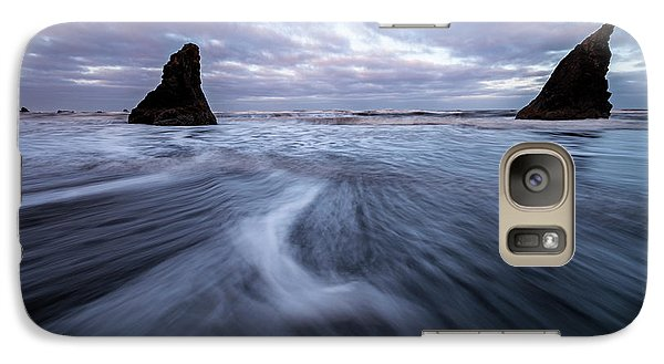 Galaxy Case featuring the photograph Ebb And Flow by Mike Lang