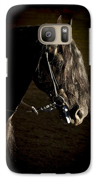 Galaxy Case featuring the photograph Ebony Beauty D6951 by Wes and Dotty Weber