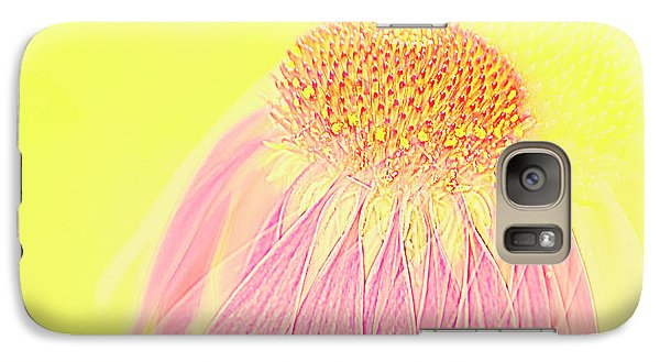 Galaxy Case featuring the photograph Echinacea In Pink by Linde Townsend