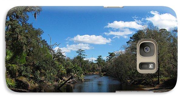 Galaxy Case featuring the photograph Econlockhatchee River by Barbara Bowen