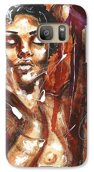 Galaxy Case featuring the painting Ecstacy by Alga Washington