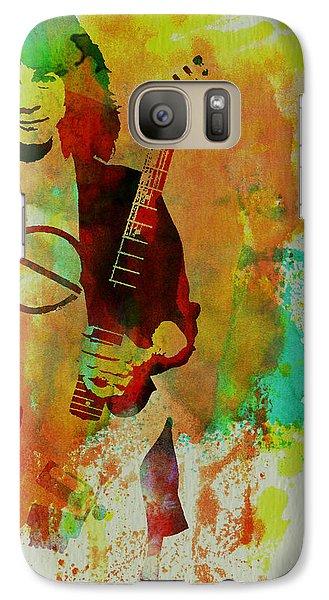 Eddie Van Halen Galaxy S7 Case by Naxart Studio