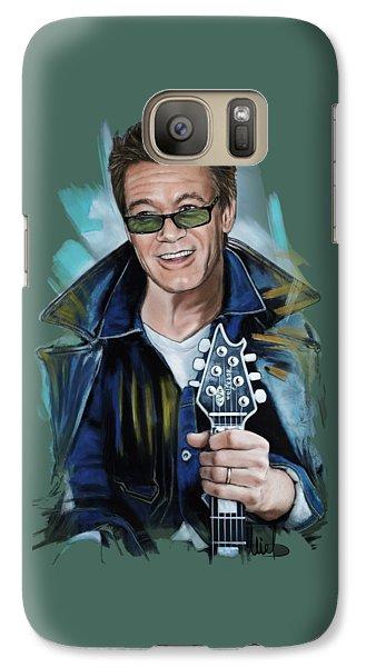 Eddie Van Halen Galaxy S7 Case by Melanie D