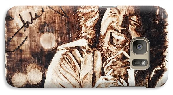 Eddie Vedder Galaxy Case by Lance Gebhardt