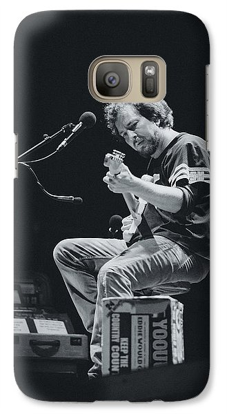 Eddie Vedder Playing Live Galaxy S7 Case