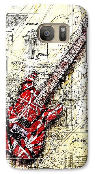 Guitar Galaxy S7 Case - Eddie's Guitar 3 by Gary Bodnar