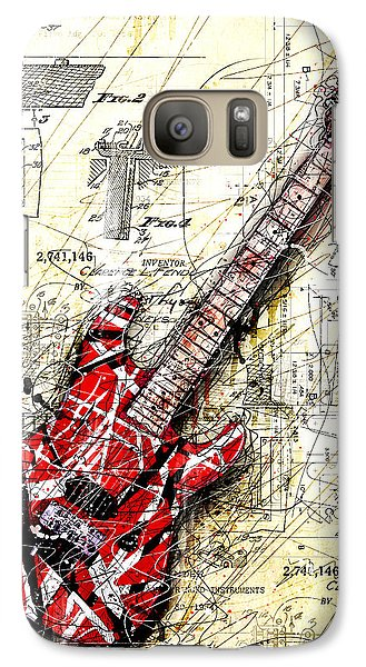 Eddie's Guitar 3 Galaxy S7 Case by Gary Bodnar