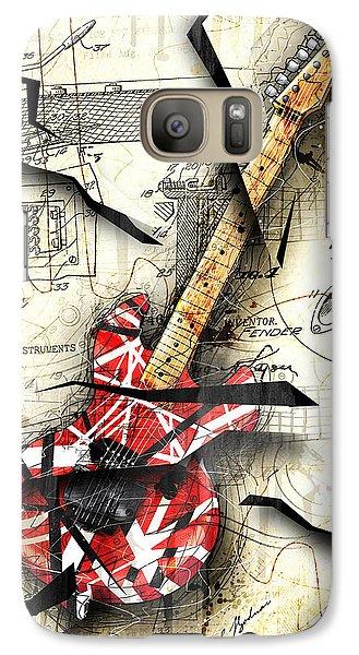 Eddie's Guitar Galaxy Case by Gary Bodnar