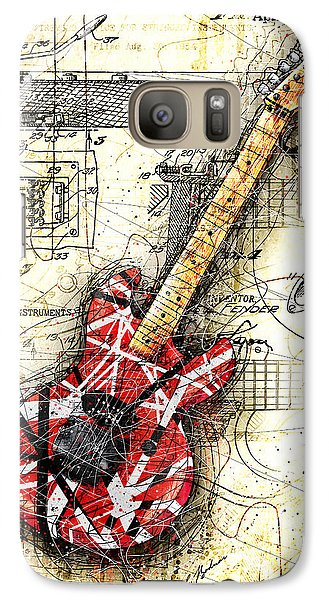 Eddie's Guitar II Galaxy Case by Gary Bodnar