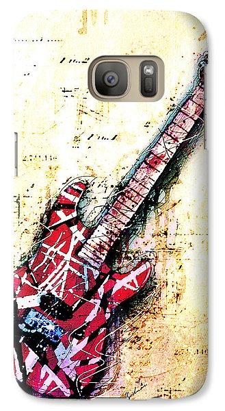 Eddie's Guitar Variation 07 Galaxy S7 Case by Gary Bodnar