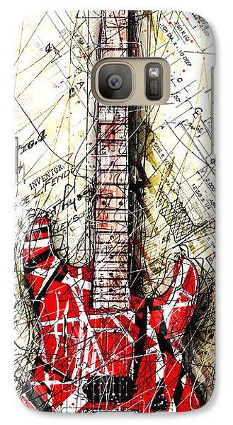 Eddie's Guitar Vert 1a Galaxy S7 Case by Gary Bodnar