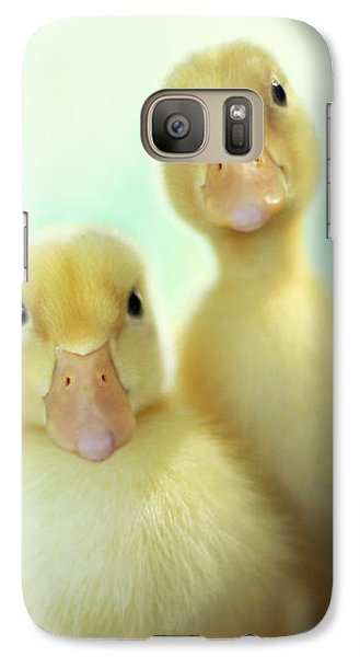 Galaxy Case featuring the photograph Edgar Loves Sally by Amy Tyler
