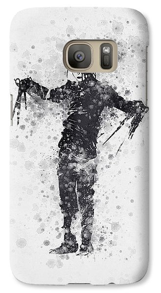Edward Scissorhands 01 Galaxy S7 Case by Aged Pixel
