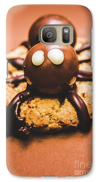 Eerie Monsters. Halloween Baking Treat Galaxy S7 Case