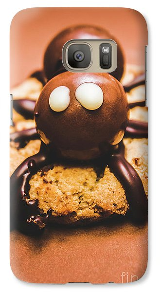 Eerie Monsters. Halloween Baking Treat Galaxy S7 Case by Jorgo Photography - Wall Art Gallery