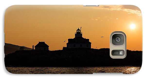 Galaxy Case featuring the photograph Egg Rock Lighthouse by Gary Smith