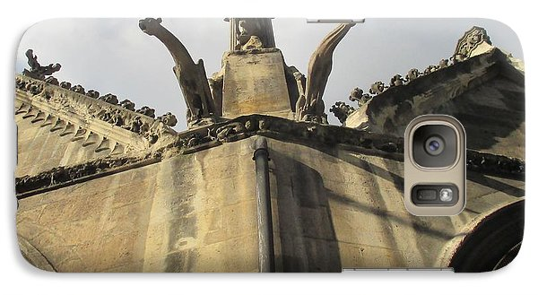 Galaxy Case featuring the photograph Eglise Saint-severin, Paris by Christopher Kirby